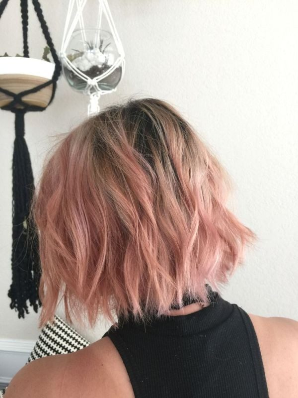 blonde-and-pastels-21 80+ Marvelous Color Ideas for Women with Short Hair
