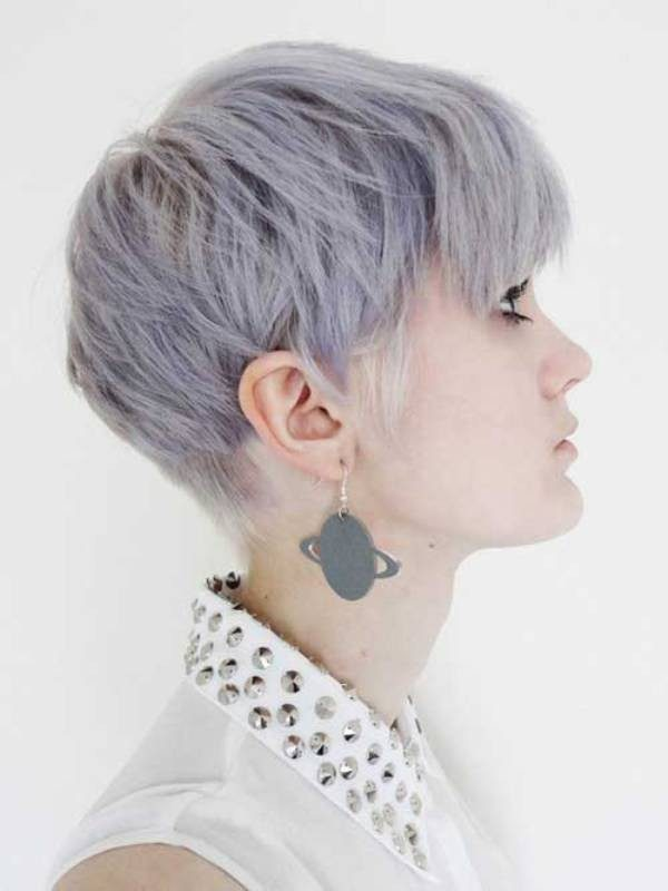 blonde-and-pastels-22 80+ Marvelous Color Ideas for Women with Short Hair in 2018