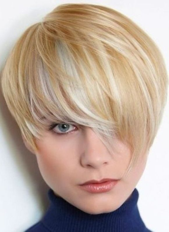 blonde-and-pastels-9 80+ Marvelous Color Ideas for Women with Short Hair