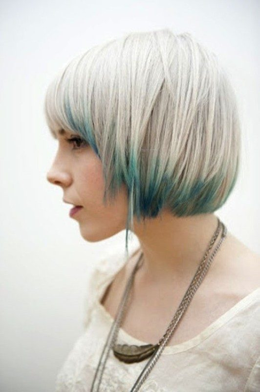 blonde-and-pastels 80+ Marvelous Color Ideas for Women with Short Hair