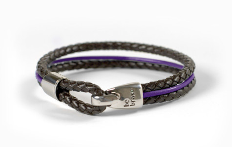 bravelet-bracelet-mens-purple-475x301 75 Most Healthy Medical Accessories And Bracelets for 2017