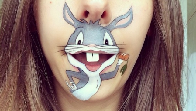 bugs 16 Creative Lip Makeup Arts