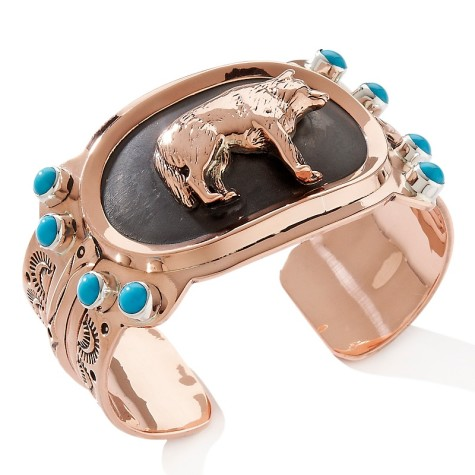 chaco-canyon-southwest-turquoise-wolf-copper-and-ster-d-2012021716104277162599-475x475 75 Most Healthy Medical Accessories And Bracelets for 2017