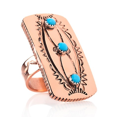 chaco-canyon-turquoise-accented-rectangular-copper-ring-d-20121102122403383215976-475x475 75 Most Healthy Medical Accessories And Bracelets for 2017