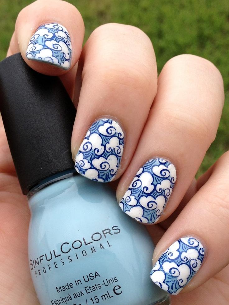 china-porcelain-nail-art 125 years of Fingernails Trends Development
