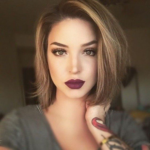 dark-roots-11 80+ Marvelous Color Ideas for Women with Short Hair in 2018