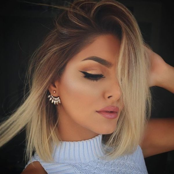 dark-roots-13 80+ Marvelous Color Ideas for Women with Short Hair in 2018