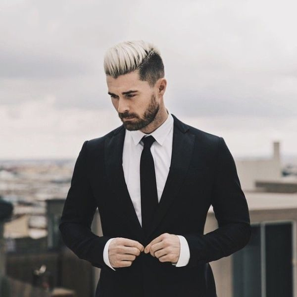 dark-roots-7 50+ Hottest Hair Color Ideas for Men in 2019