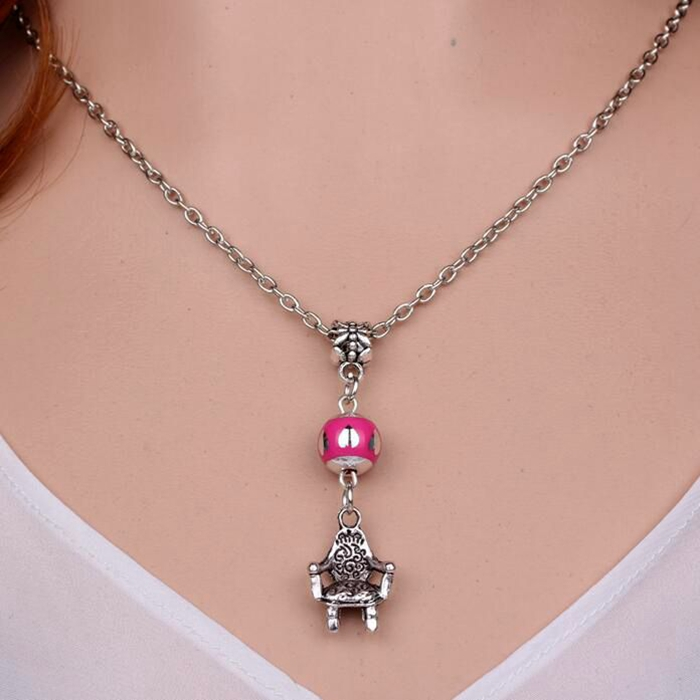 font-b-Chair-b-font-font-b-Necklace-b-font-Pendant-Vintage-Bronze-Charm-Choker Top 10 Unusual Necklace Jewelry Trends