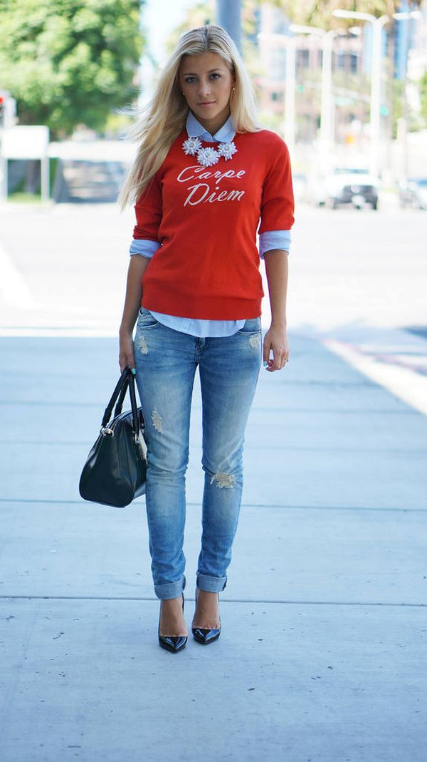 girl-next-door-outfit 6 Stylish Fall Outfits for School