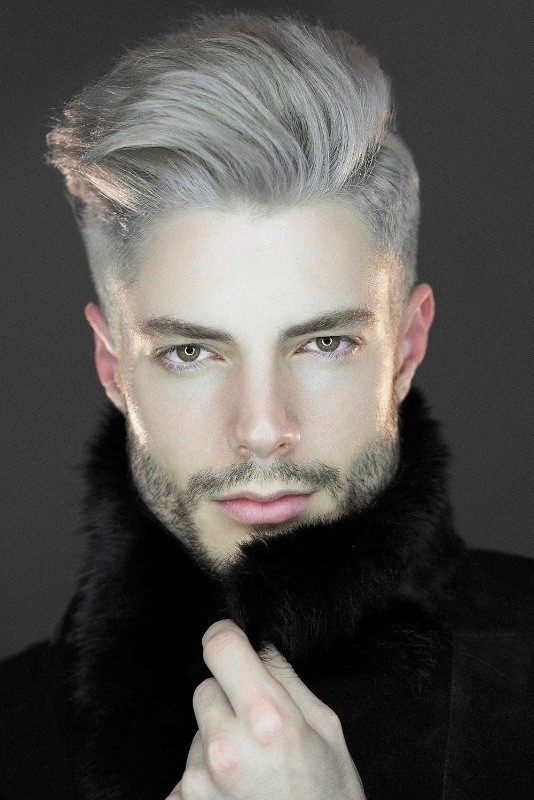 gray-1 50+ Hottest Hair Color Ideas for Men in 2019