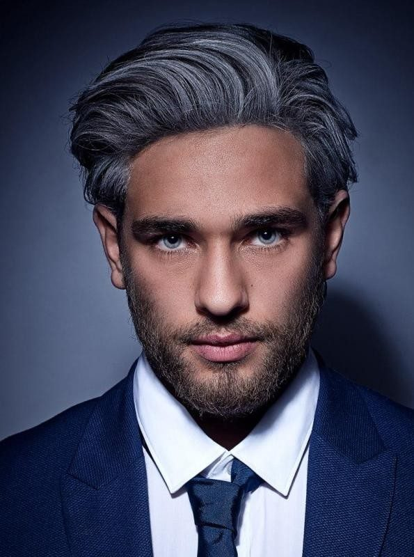 gray-2 50+ Hottest Hair Color Ideas for Men in 2019