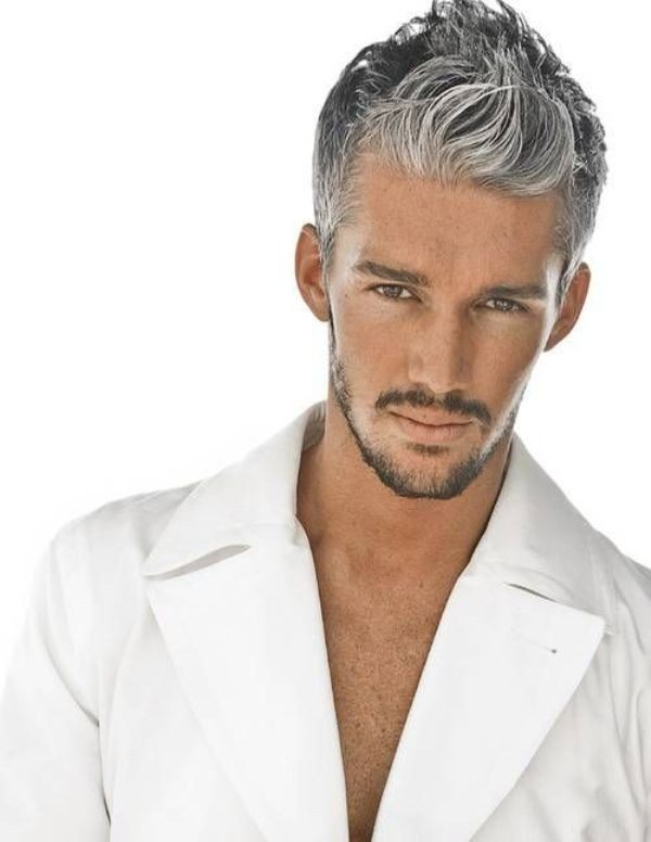 gray-4 50+ Hottest Hair Color Ideas for Men in 2018