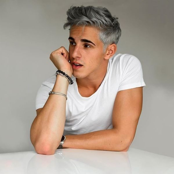 gray-6 50+ Hottest Hair Color Ideas for Men in 2019
