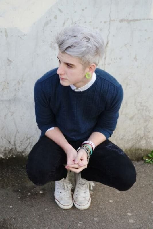 gray 50+ Hottest Hair Color Ideas for Men in 2018