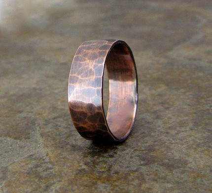 hammered_copper_wide_oxidized_ring_band_e6b5e93c 75 Most Healthy Medical Accessories And Bracelets