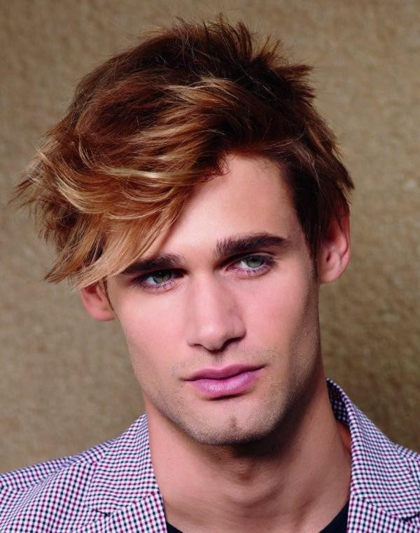 highlights-11 50+ Hottest Hair Color Ideas for Men in 2019