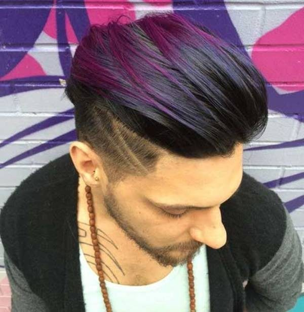 highlights-13 50+ Hottest Hair Color Ideas for Men in 2019