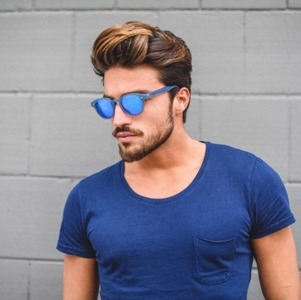 highlights-14 50+ Hottest Hair Color Ideas for Men in 2019