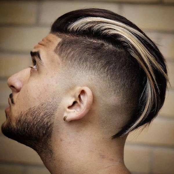 highlights-15 50+ Hottest Hair Color Ideas for Men in 2020