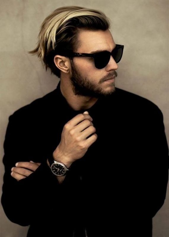 highlights-2-1 50+ Hottest Hair Color Ideas for Men in 2019