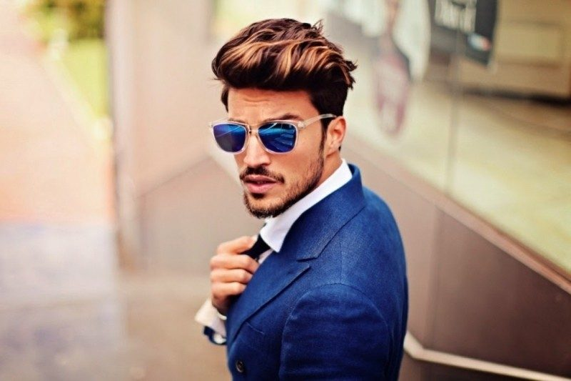 highlights-21 50+ Hottest Hair Color Ideas for Men in 2019