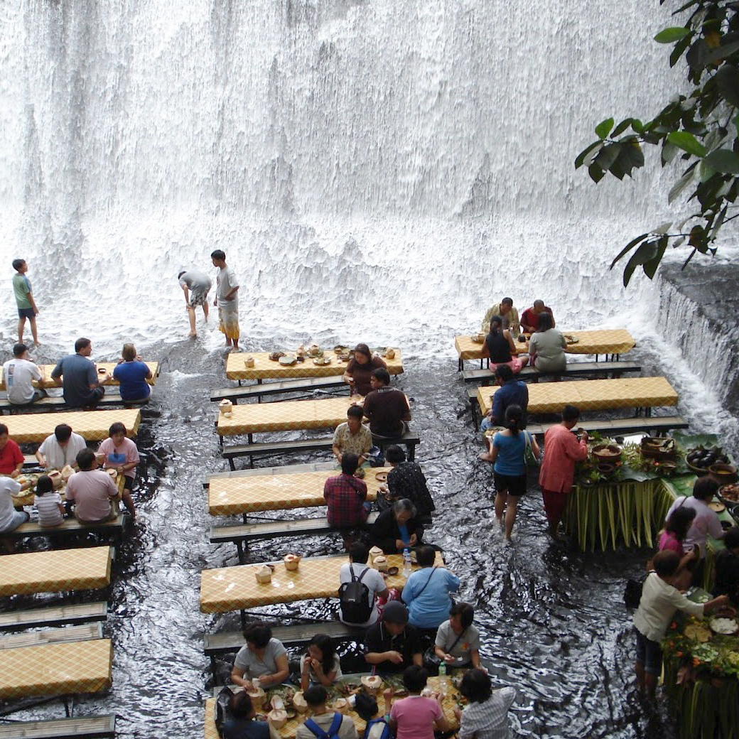 labassin-waterfall-restaurant-fwx 10 Most Unusual Restaurants in The World 2018