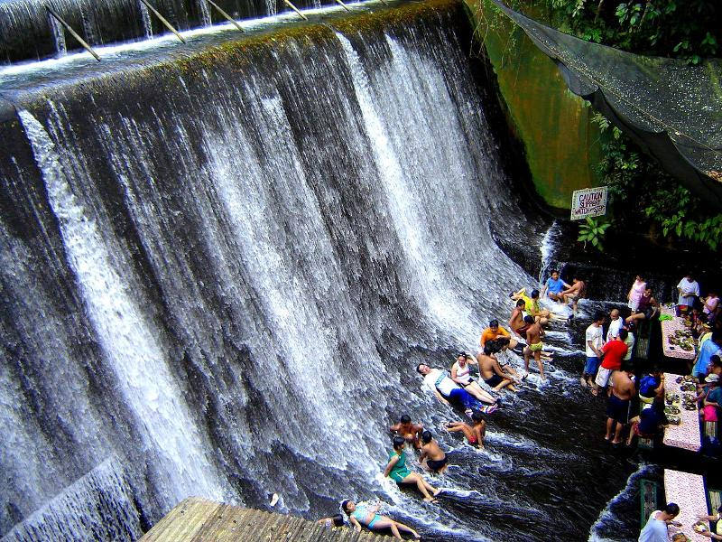 labassin-waterfall-restaurant-in-philippiness-1 10 Most Unusual Restaurants in The World