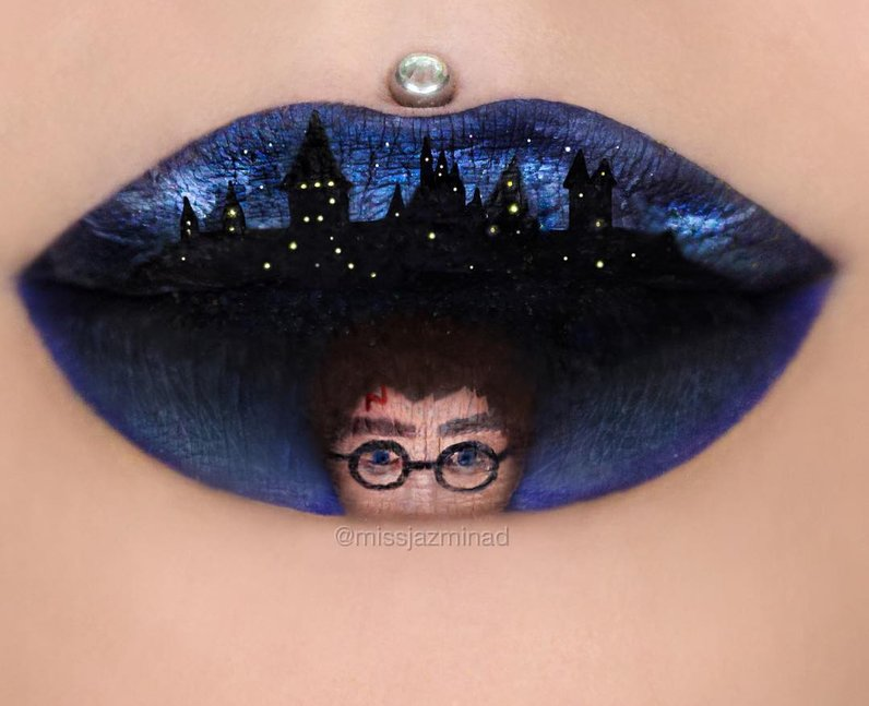 lip-art-harry-potter-1468406452-view-0 16 Creative Lip Makeup Arts
