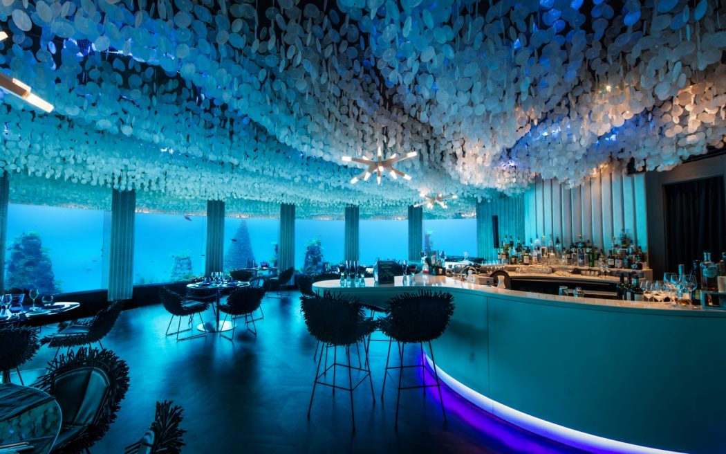 maldives0615-underwater 10 World's Most Unusual Restaurants