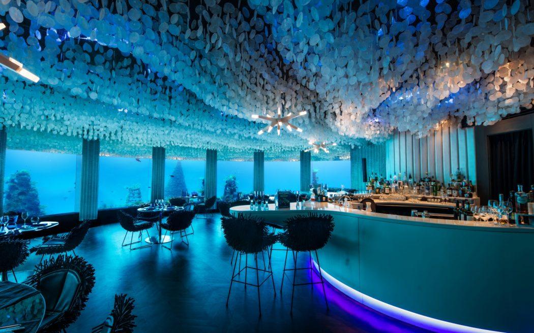 maldives0615-underwater 10 Most Unusual Restaurants in The World