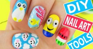 10 Terrific «Back to School» Nail Art for Kids