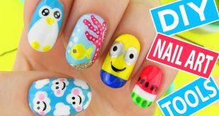 10 Terrific «Back to School» Nail Art for Kids