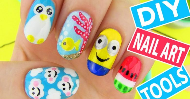 Photo of 10 Terrific «Back to School» Nail Art for Kids