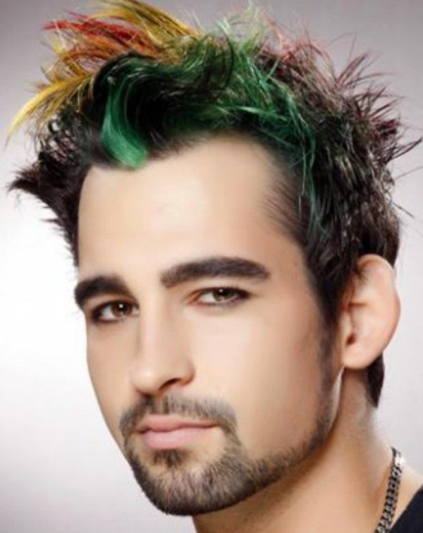 multiple-colors-4 50+ Hottest Hair Color Ideas for Men in 2019