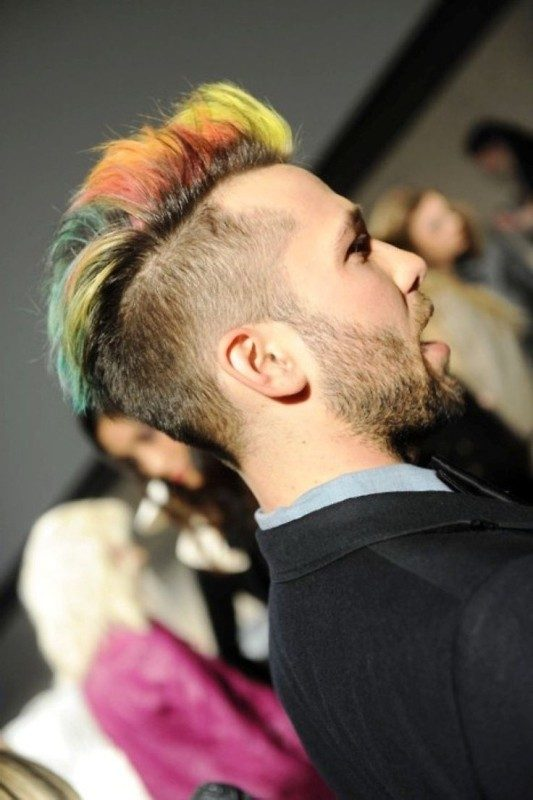 multiple-colors 50+ Hottest Hair Color Ideas for Men in 2019