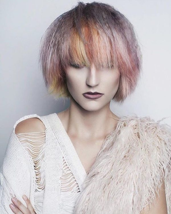 pastel-hair-colors-16 33 Fabulous Spring & Summer Hair Colors for Women 2022