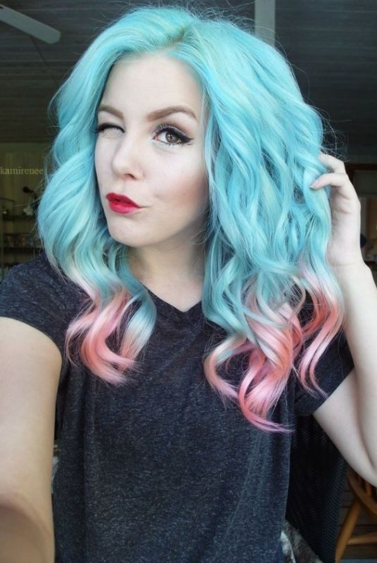 pastel-hair-colors-5 33 Fabulous Spring & Summer Hair Colors for Women 2022