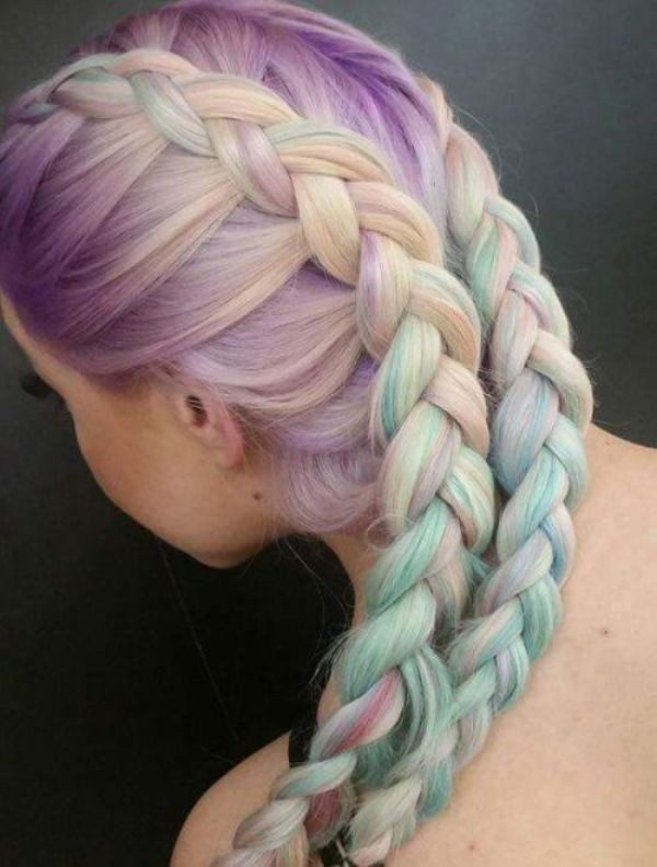 pastel-hair-colors-9 33 Fabulous Spring & Summer Hair Colors for Women 2022