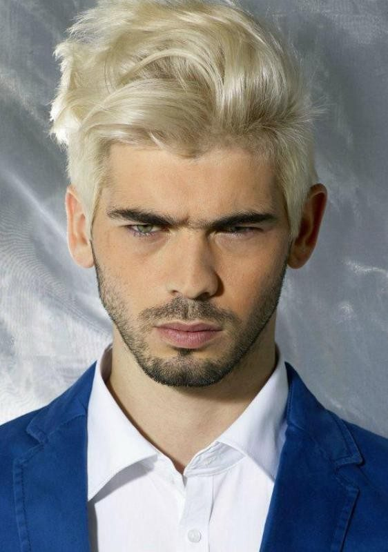 platinum-blonde-3 50+ Hottest Hair Color Ideas for Men in 2019