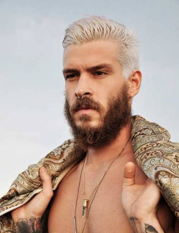 platinum-blonde-4 50+ Hottest Hair Color Ideas for Men in 2019