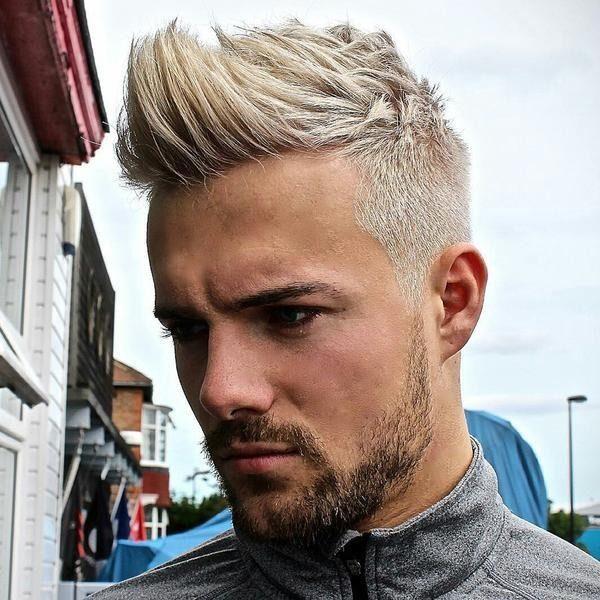 platinum-blonde-5 50+ Hottest Hair Color Ideas for Men in 2019