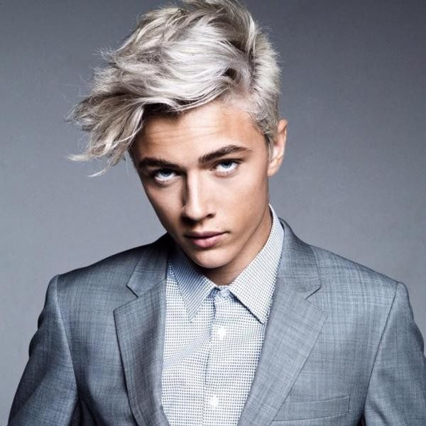 platinum-blonde-7 50+ Hottest Hair Color Ideas for Men in 2019