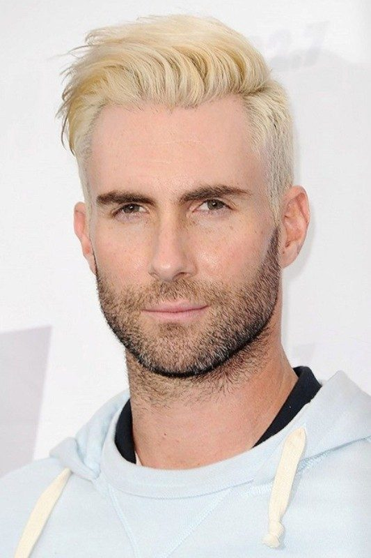 platinum-blonde 50+ Hottest Hair Color Ideas for Men in 2018
