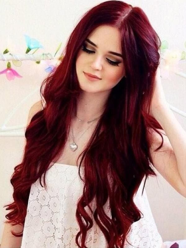 red-hair-12 33 Fabulous Spring & Summer Hair Colors for Women 2018