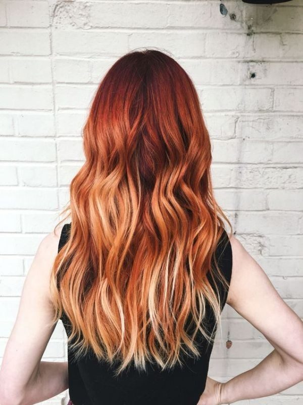 red-hair-13 33 Fabulous Spring & Summer Hair Colors for Women 2018