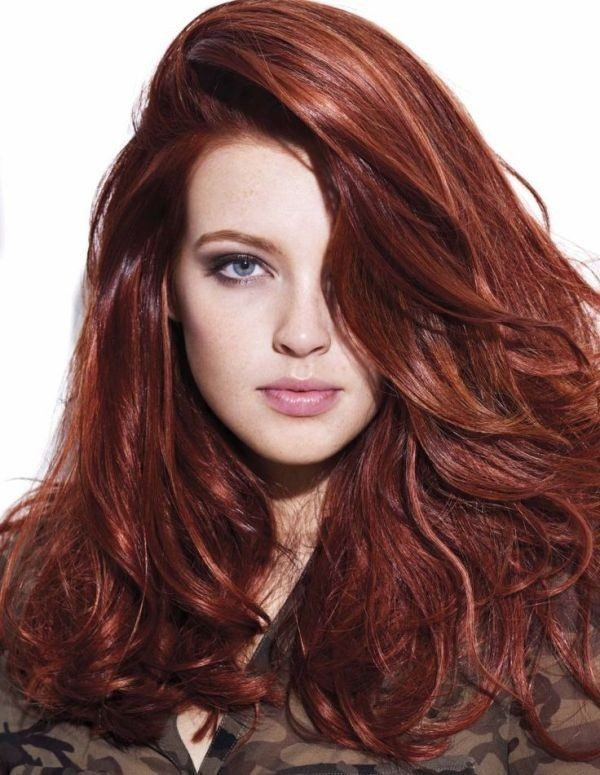 red-hair-14 33 Fabulous Spring & Summer Hair Colors for Women 2020