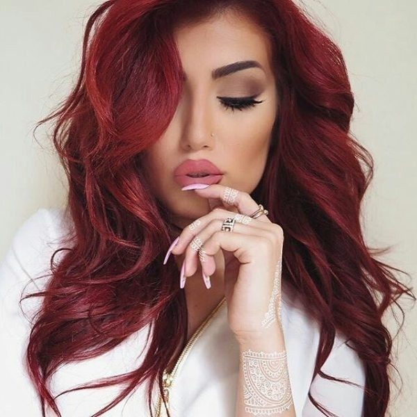 red-hair-18 33 Fabulous Spring & Summer Hair Colors for Women 2018