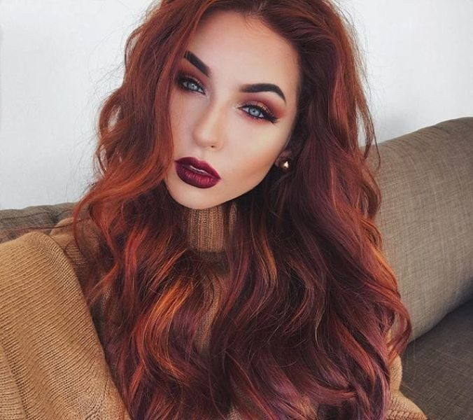 red-hair-19 33 Fabulous Spring & Summer Hair Colors for Women 2018