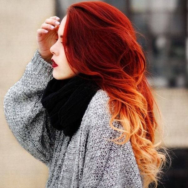 red-hair-20 33 Fabulous Spring & Summer Hair Colors for Women 2018